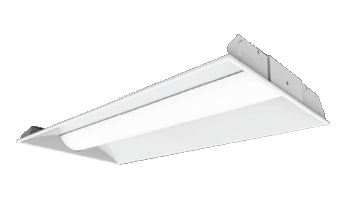 Center Basket LED Drop-in Ceiling Troffer from Parker Reed Lighting & Manufacturing